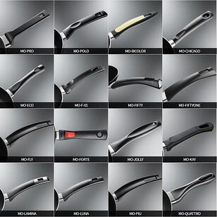 collage with samples of the best handles produced by la termoplastic fbm