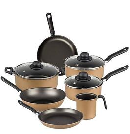 Cookware set of pot and pan with thor handle by F.B.M. La Termoplastic