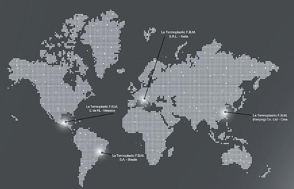 fbm manufacturing and distribution sites worldwide