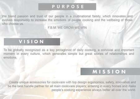 Purpose Vision Mission